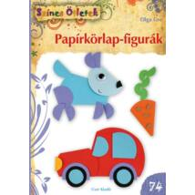Papírkörlap-figurák - Színes Ötletek Sorozat 74.