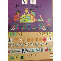 Játszva olvass - v-f betű