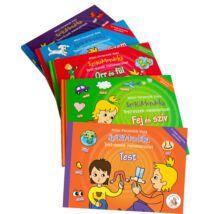 SzóKiMondóka Testrészek mesesorozat - az 5 kötet együtt, csomagban
