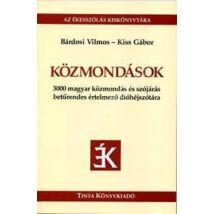 Közmondások - 3000 magyar közmondás és szójárás betűrendes értelmező dióhéjszótára