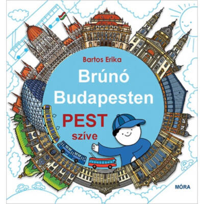 Brúnó Budapesten - Pest szíve