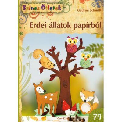 Erdei állatok papírból - Színes Ötletek 79.